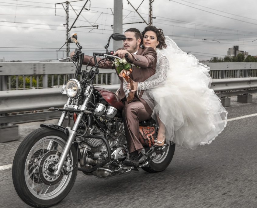 оригинальная свадебная фотосъемка
