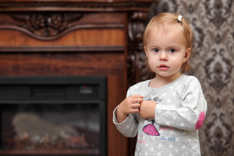 Фотосессия дочки в фотостудии