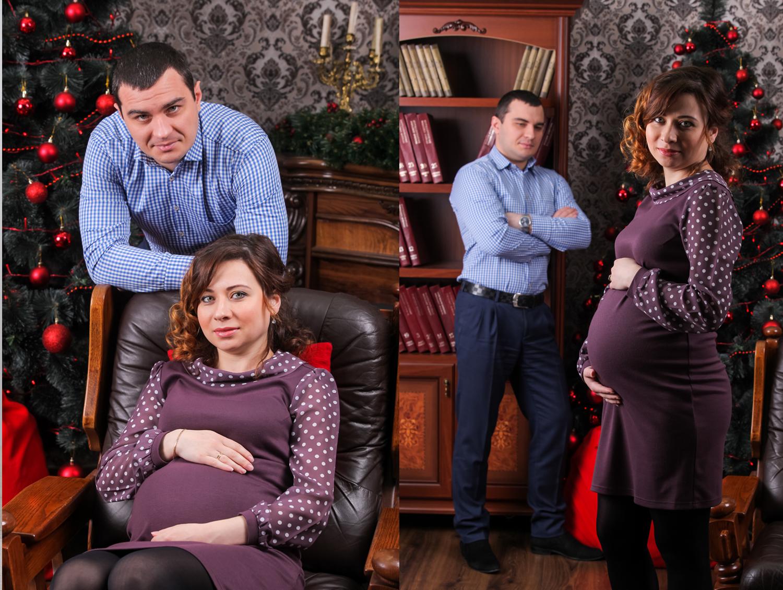 Нежная беременная фотосессия