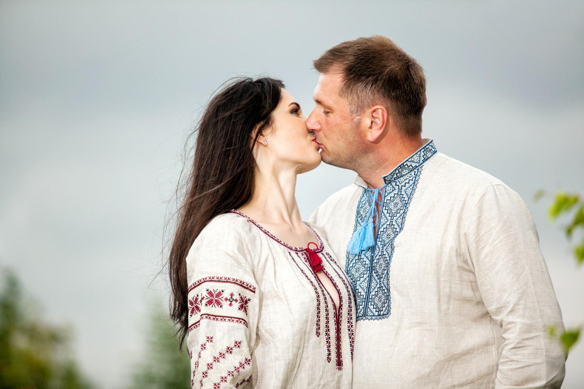 фотосессия в украинском стиле