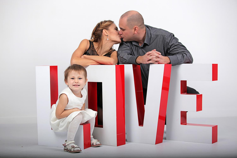 Серии - Семейная фотосессия в студии - Семейная фотосессия в студии | Детский и семейный фотограф Киев