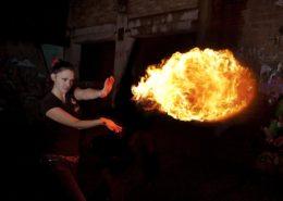 фотосессия огня