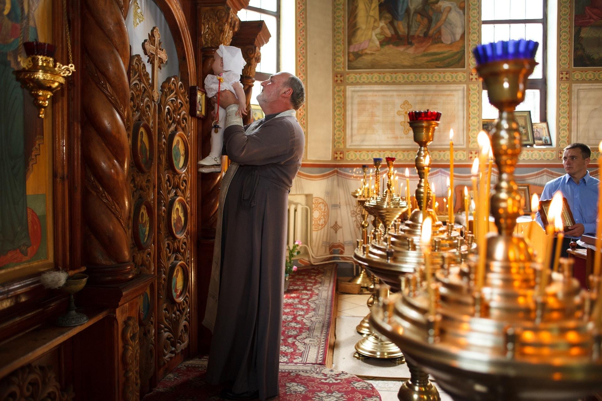 фотограф на крещение Киев