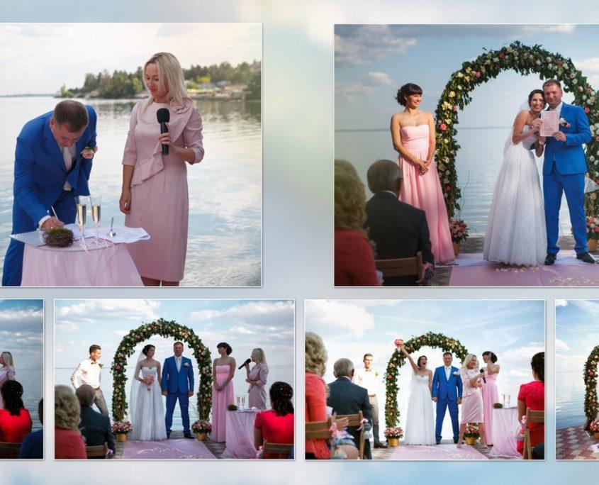 печать свадебной фотокниги