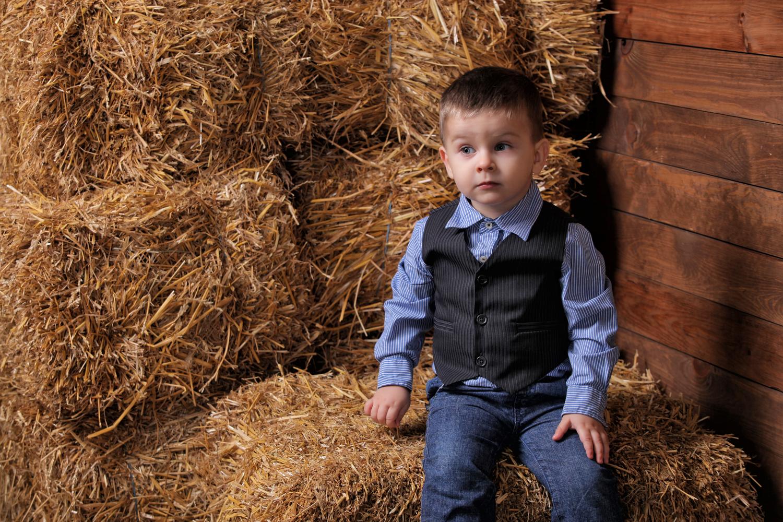 Детская фотосесия в фотостудии