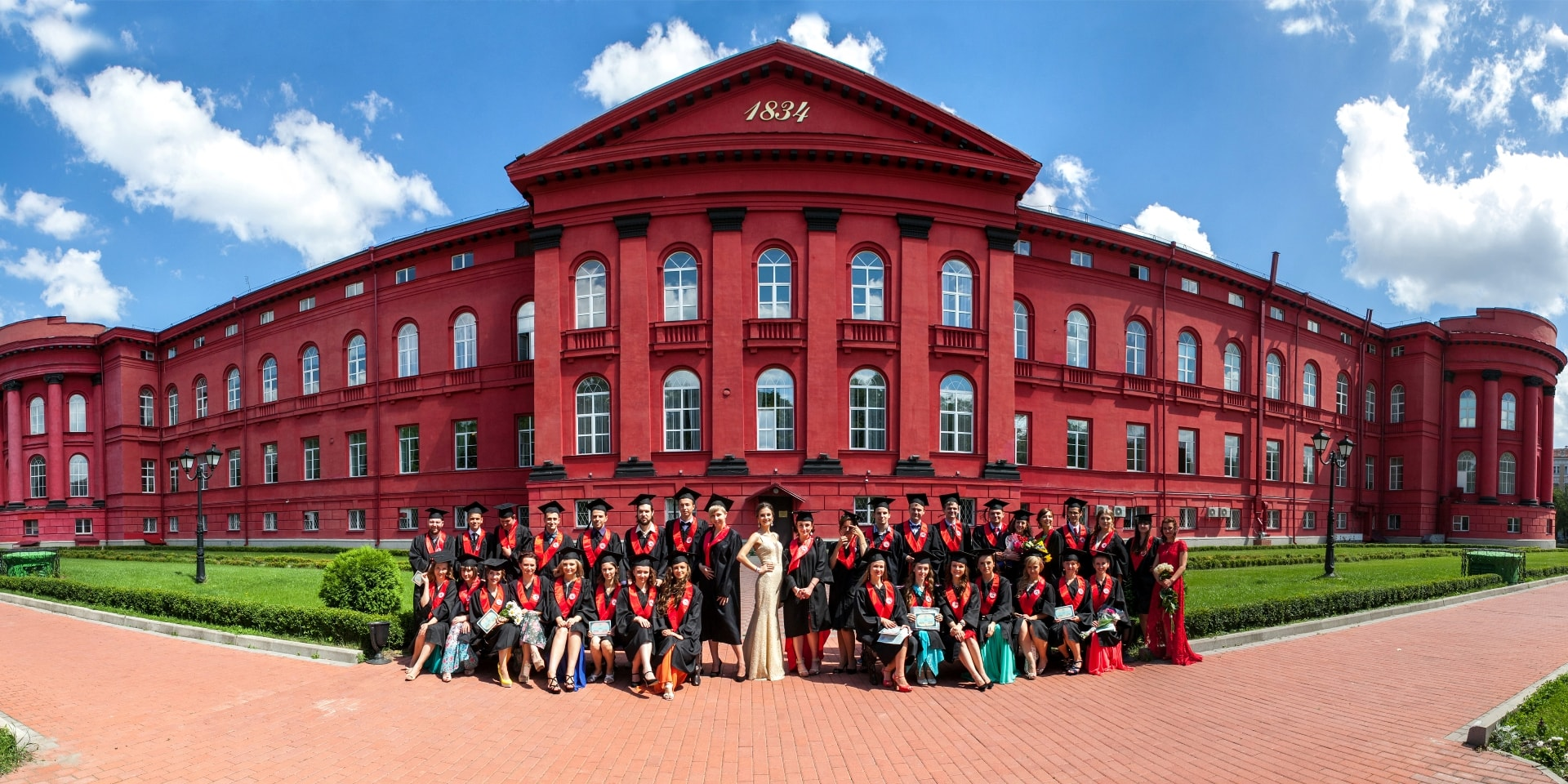фотосессия институт выпускной в Киеве