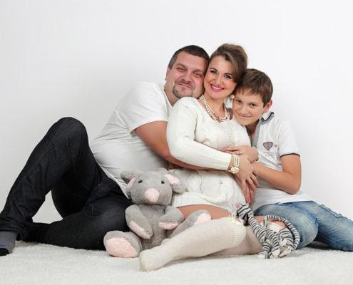 семейная фотосессия с сыном