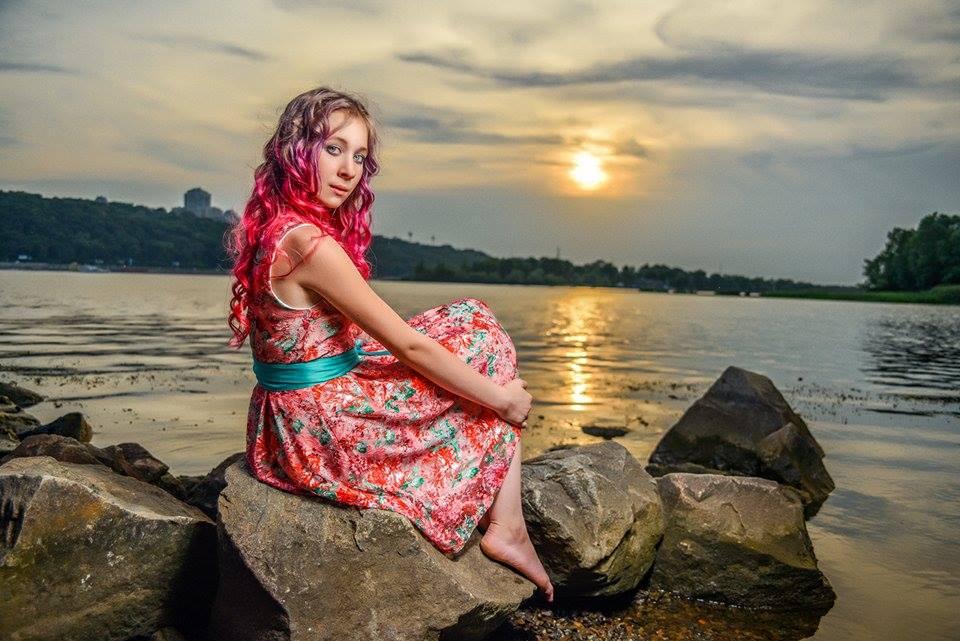 Фотосессия на закате в киеве
