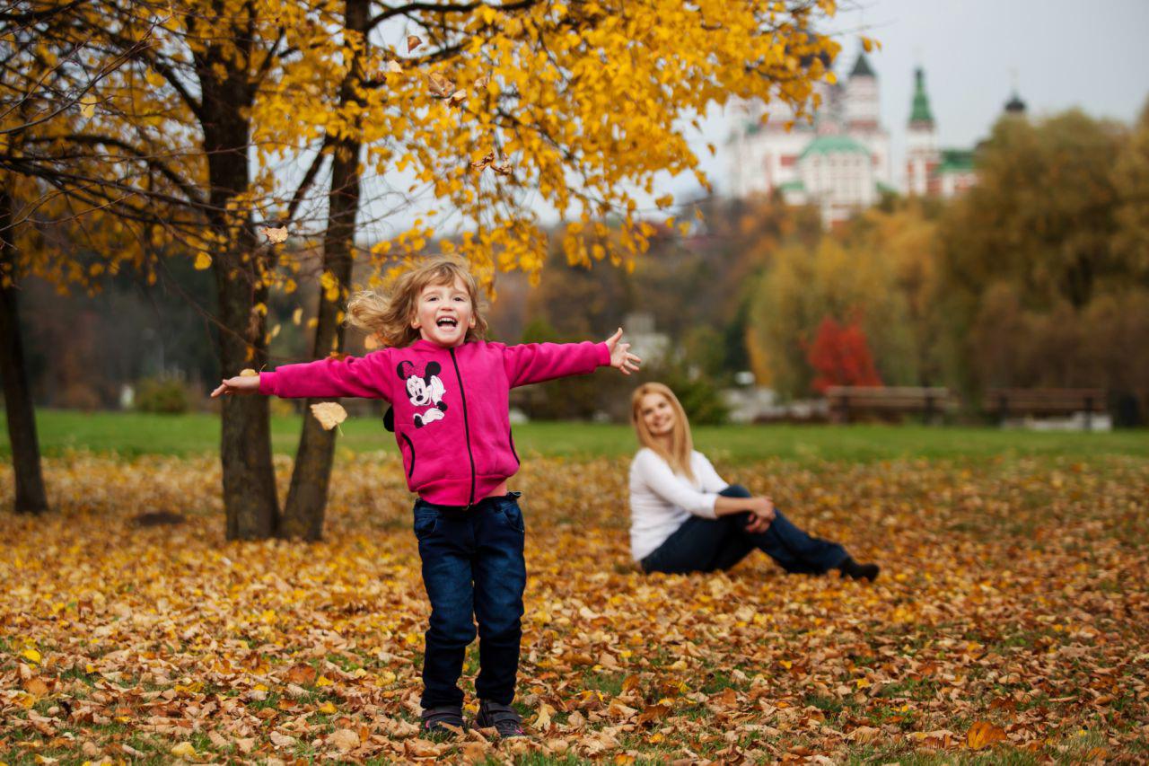Осенняя фотосессия в Киеве